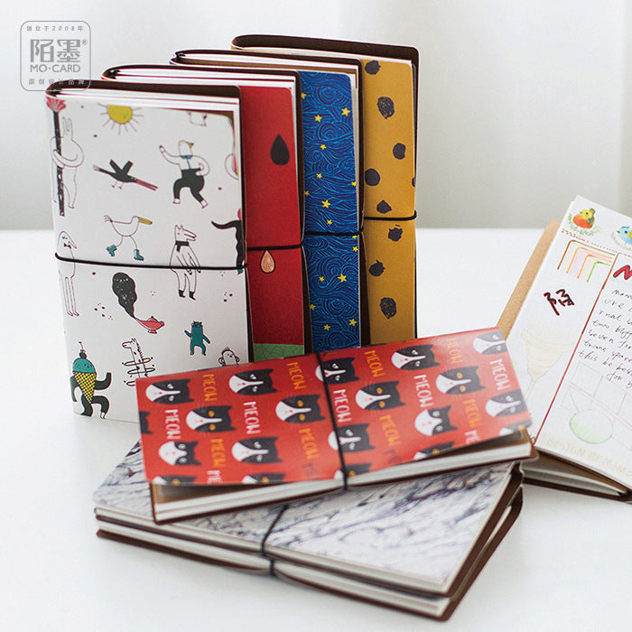 Creative Print Leather Bound Journal