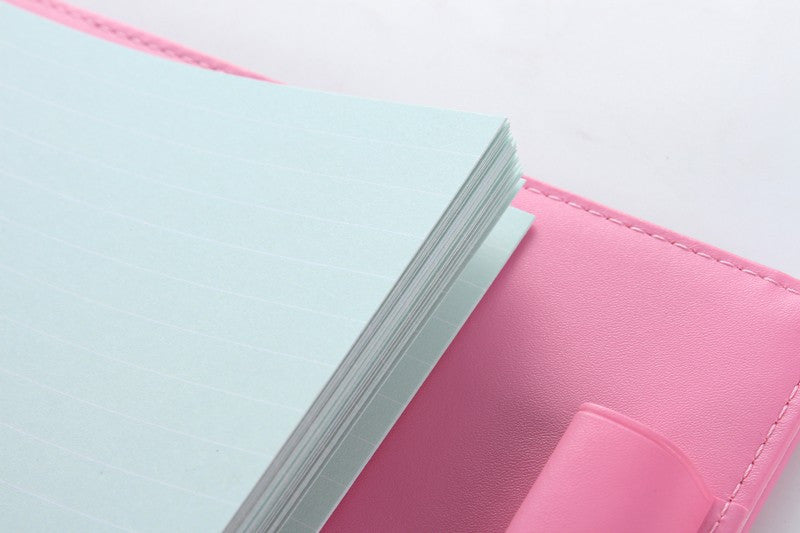 Colored Inner Papers For Spiral Notebooks (6 Holes)