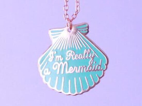 I'm Really a Mermaid Necklace