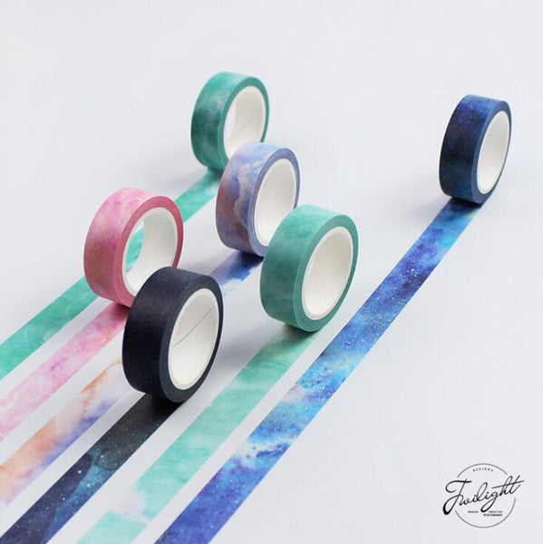 The Fantastic Dream Color Decorative Scrapbooking Tapes