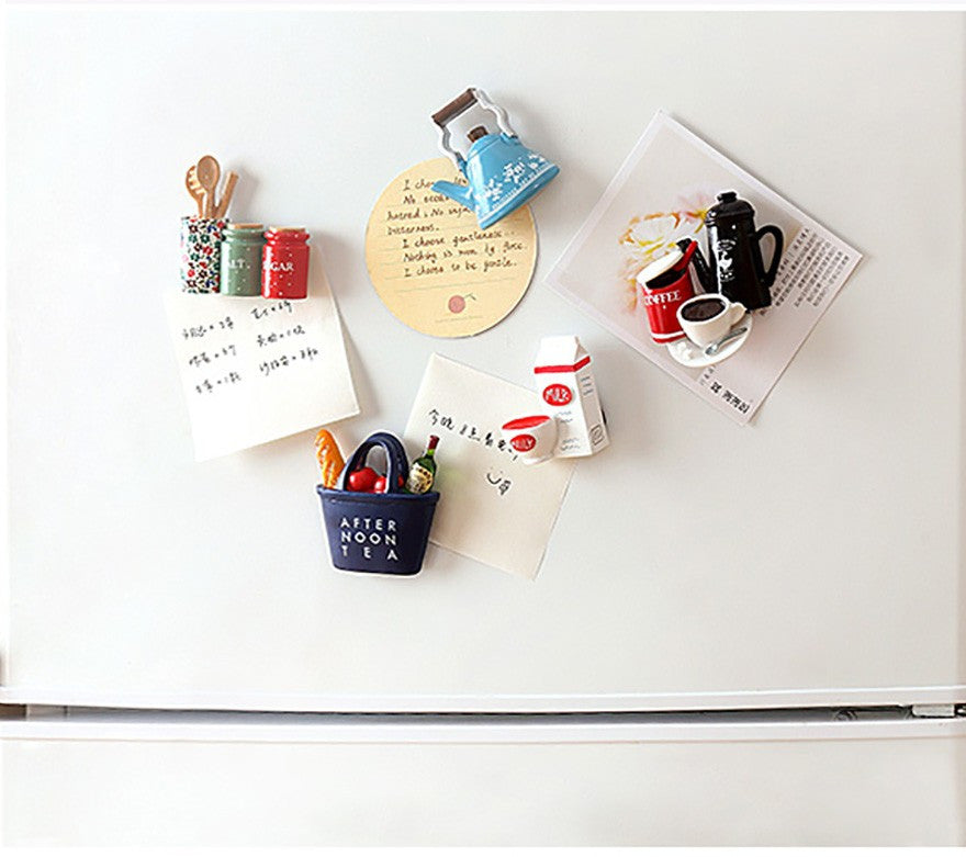 Afternoon Tea Basket Magnet