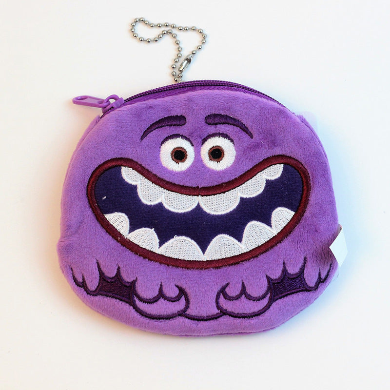 Monsters University Violet Coin Purse