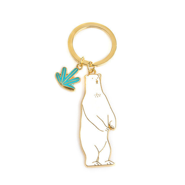 Cute Bear Key Chain