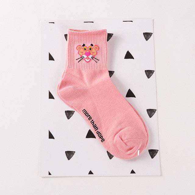 Animal Cartoon Tube Socks
