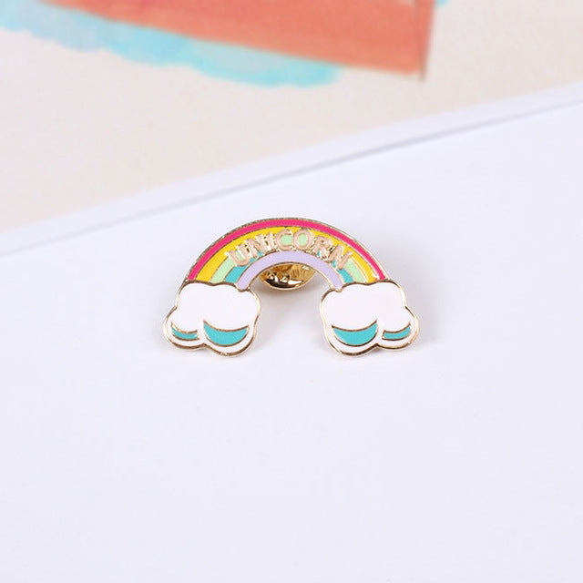 Rainbow Dream Brooch Pin