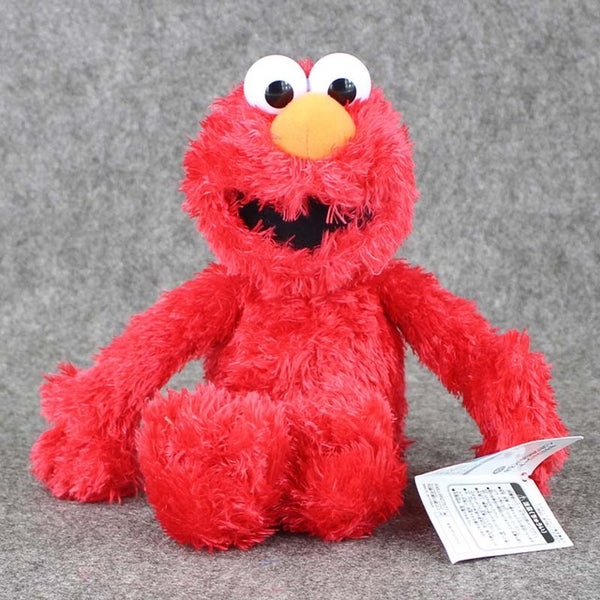 Elmo Cartoon Character Stuffed Plush Toy