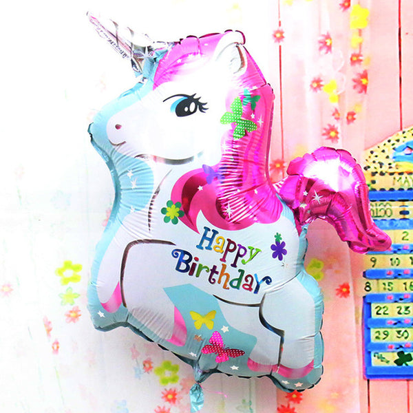 Giant Unicorn Foil Balloon