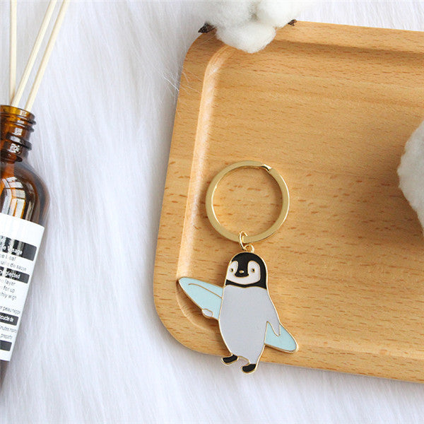 Cute Penguin Key Chain