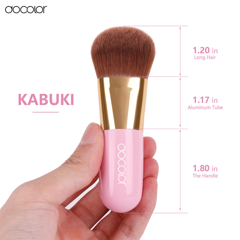 Synthetic Short Handle Make Up Brushes (1 Brush)