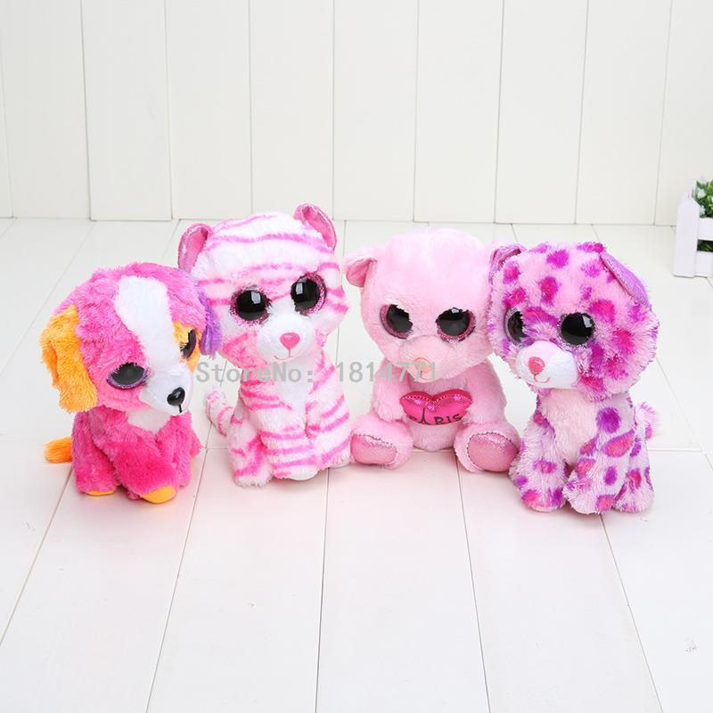 Big Eyes Cute Animals Soft Toys For Kids (10 Doll Set)