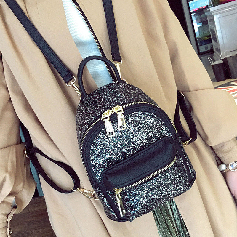 Sequin Backpack