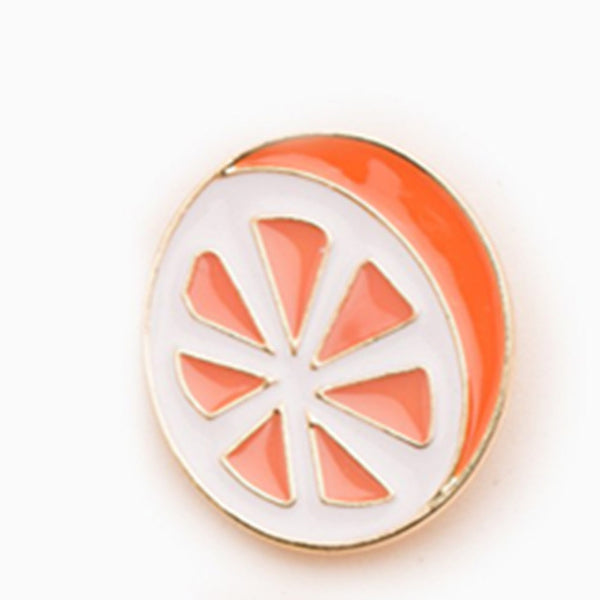 Orange Brooch Pin