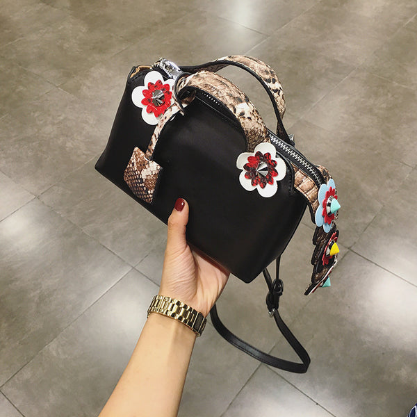 Boston Flowers Handbag