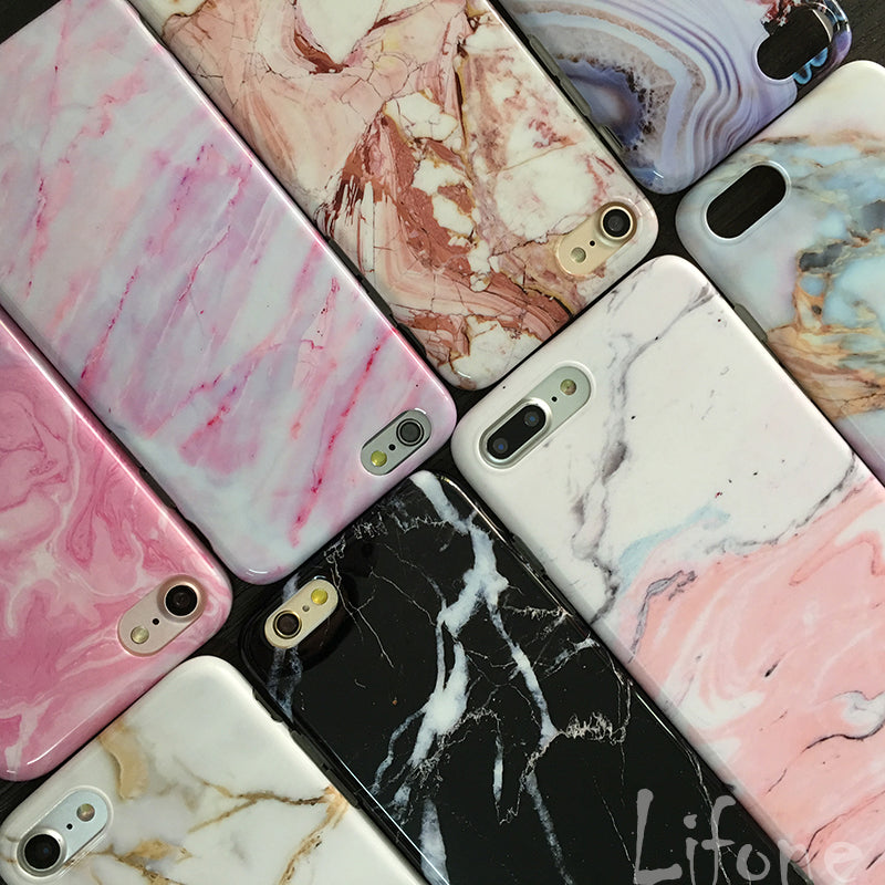 Soft Silicone Marble Phone Cases For iPhone 6 / 6 Plus / 6S / 6S Plus