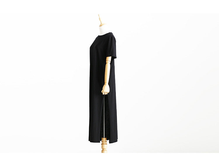 High Slit Long Dress