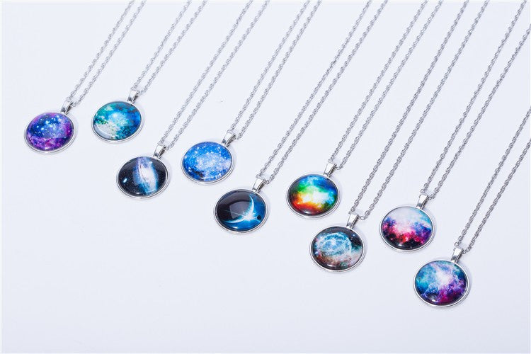 Vintage Style Space Necklace