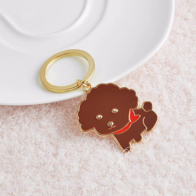Cute Puppy Key Chain