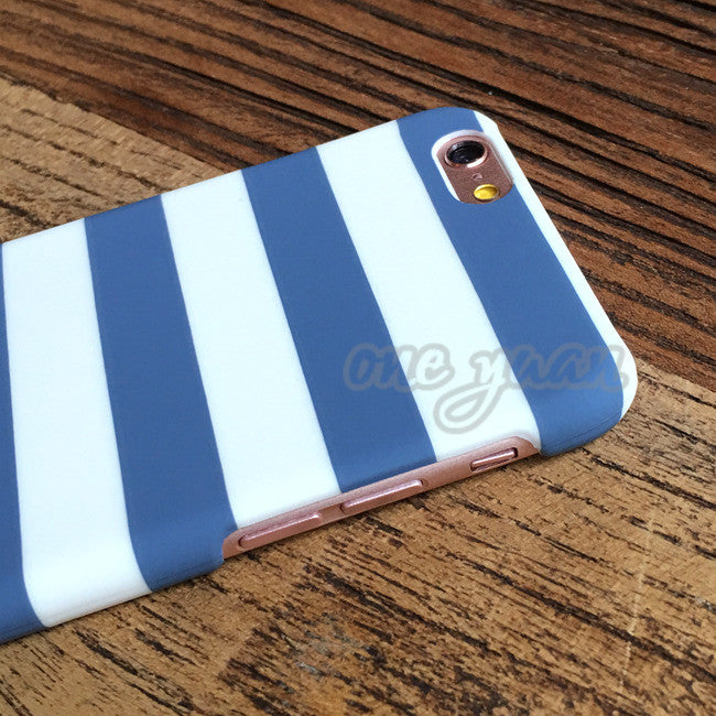 Geometric Stripes Print Full Protect Phone Cases For iPhone