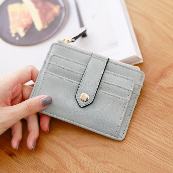 Cute Creative Multi Functional PU Leather Wallet