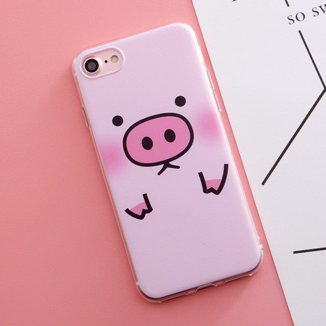 Pig Wink Phone Case For iphone