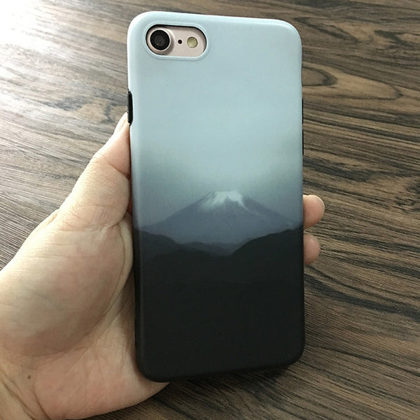 Beautiful Hill Soft Silicone Phone Case For iPhone