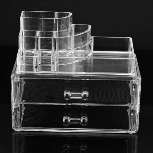 Boutique Cosmetics Acrylic Makeup Organizer