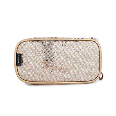 Sequins Travel Make Up Case