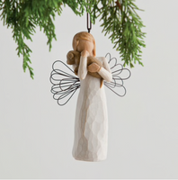ANGEL OF FRIENDSHIP ORNAMENT WILLOW TREE