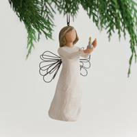 ANGEL OF HOPE ORNAMENT WILLOW TREE