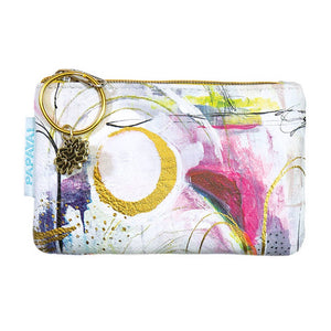 PAPAYA - Coin Purse - Brushstrokes