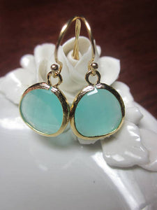 Laalee Jewelry - Pacific Aqua Mint Earrings Blue 8994