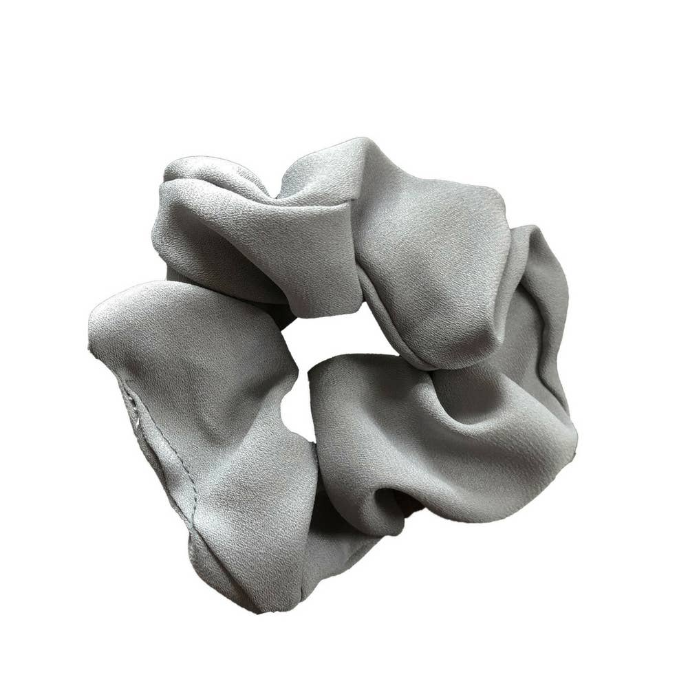 Headbands of Hope - Scrunchie Grey Solid