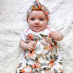 Headbands of Hope - Baby Swaddle Vintage Floral