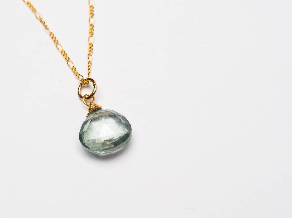 Ruthie and Olive | 3 meals donated for every necklace - First Of All - Gemstone Necklace