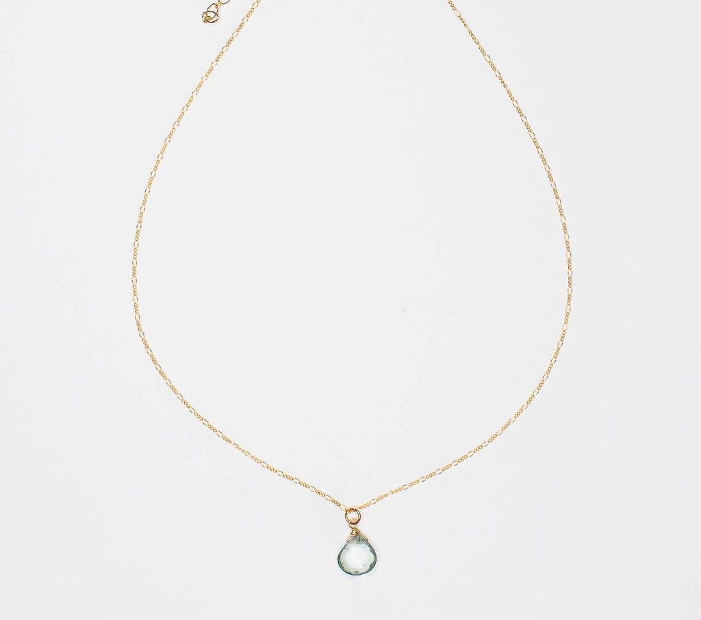 Ruthie and Olive | 3 meals donated for every necklace - I Think You Are Magic - Gemstone Necklace