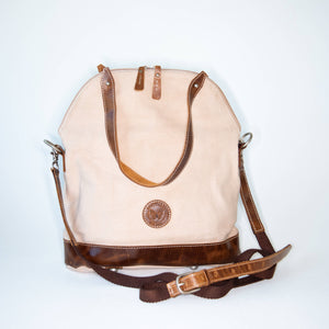 Le Papillon - DUST PINK Phillipe Crossbody/ Genuine leather