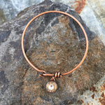 Buffalo Girls Salvage - Bullet Bangle Bracelet - Copper or Bronze