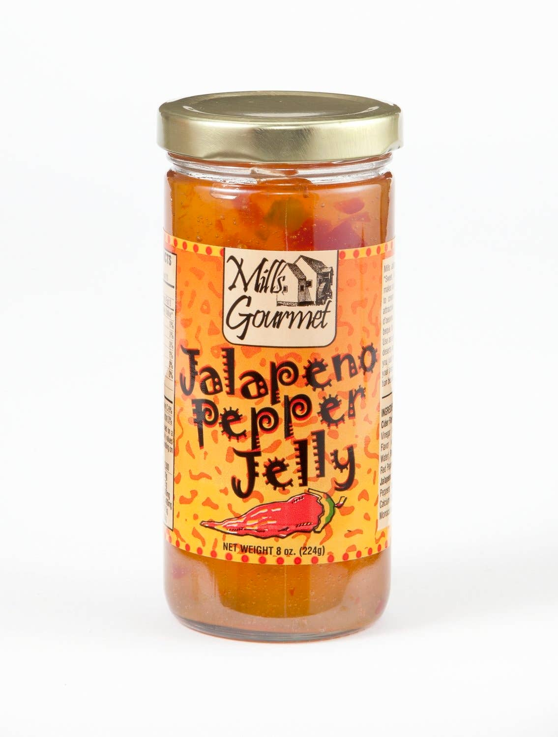 Mills Gourmet - Jalapeno Pepper Jelly Case