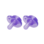 Nookums - Nookums Paci-Plushies Replacement Pacifier - Purple 2 Pack