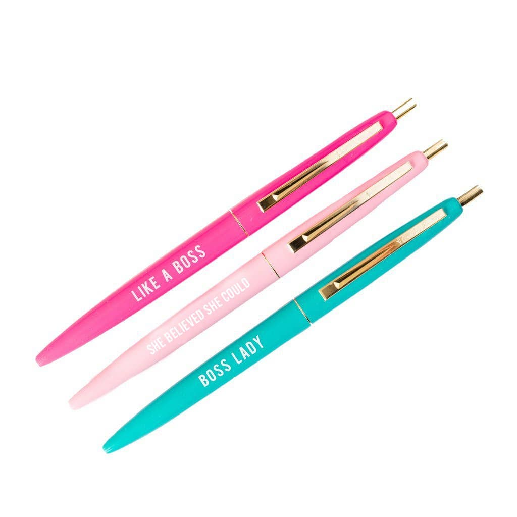 Sweet Water Decor - Boss Lady Pen Set