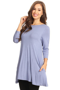 Slate Pocket Tunic