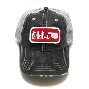 Gracie Designs - Patched Hat - Okla Home