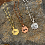 Buffalo Girls Salvage - Mother's Day Mom Hand Stamped Necklace