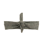 Headbands of Hope - Solid Grey Knotted Headband