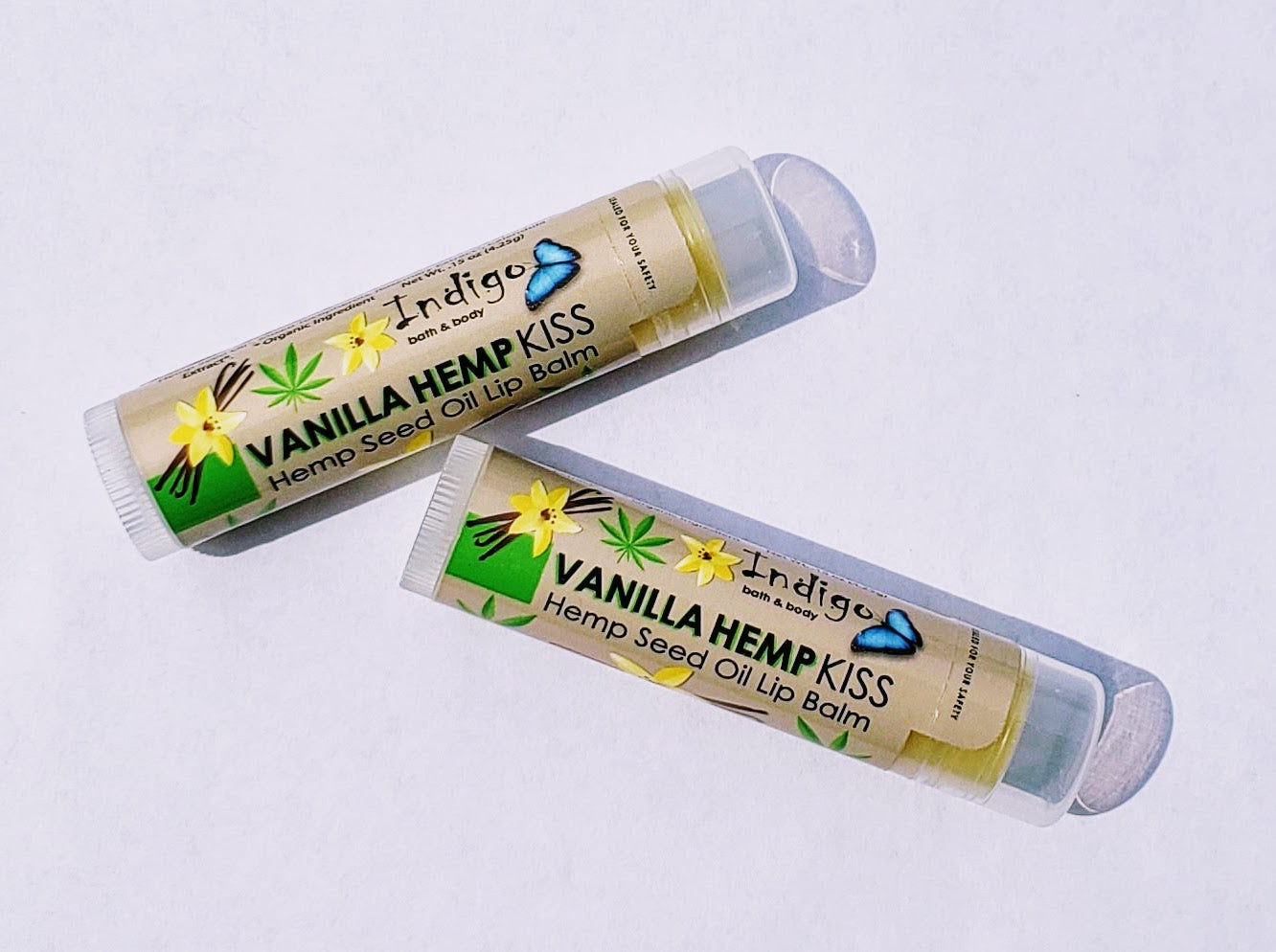 Indigo Bath and Body - Vanilla Hempseed Oil Lip Balm