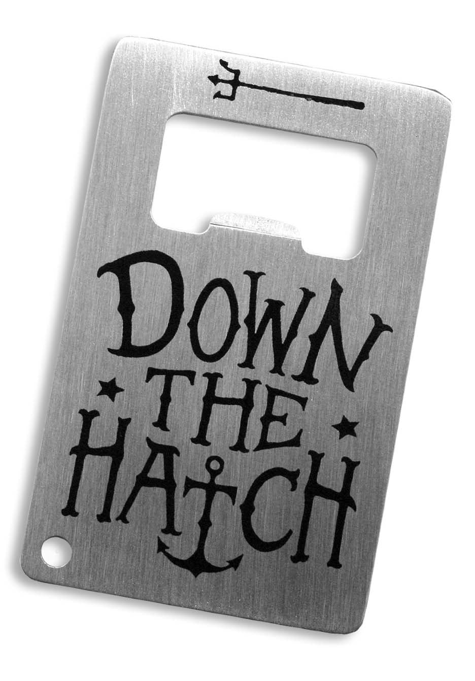 Trixie & Milo - Credit Card Bottle Opener - Down the Hatch