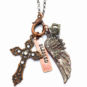 Buffalo Girls Salvage  - Blessed Treasure Necklace