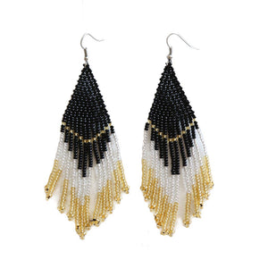 FOSTERIE - Caviar Beaded Earrings