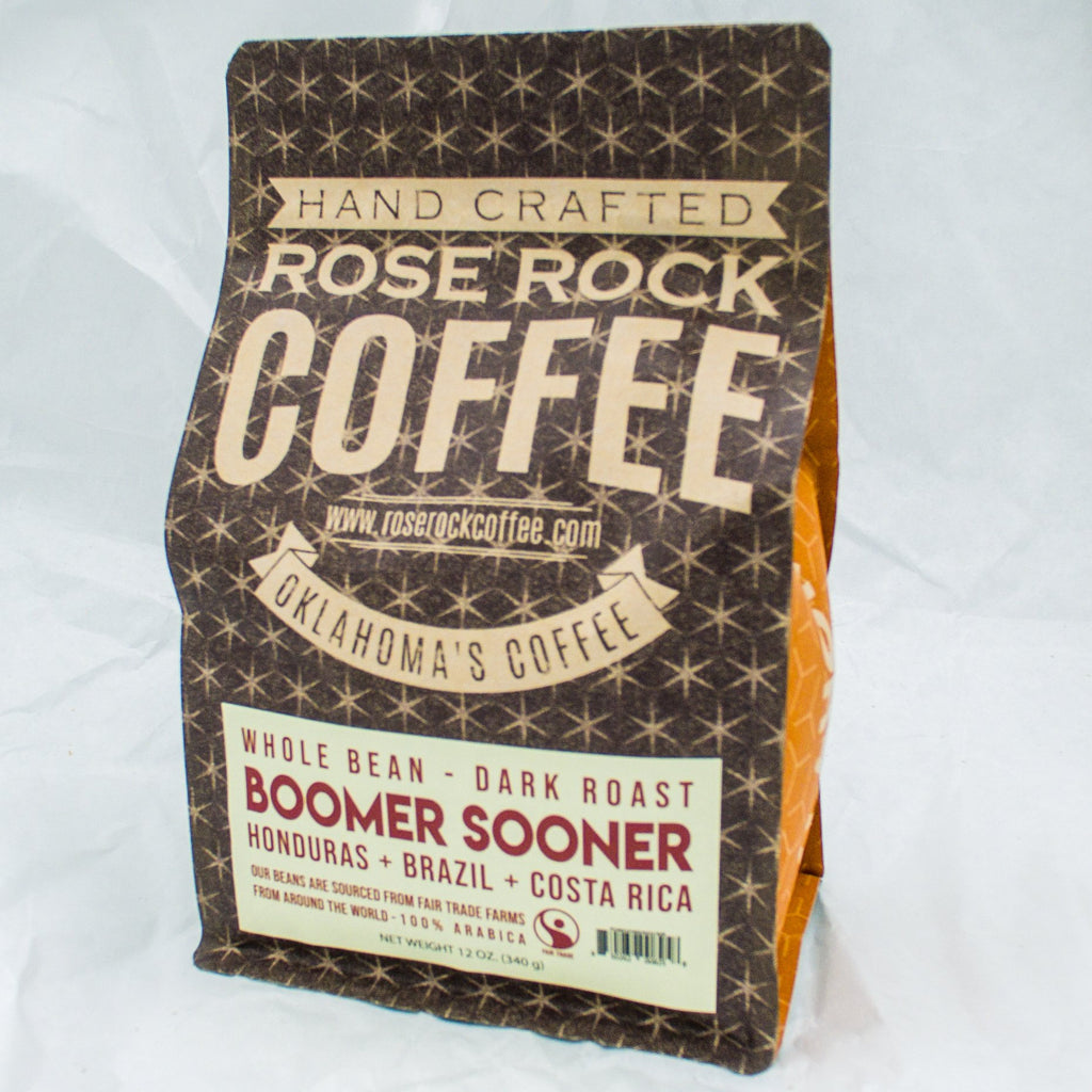 Rose Rock Boomer Sooner 12 oz. - Dark Roast