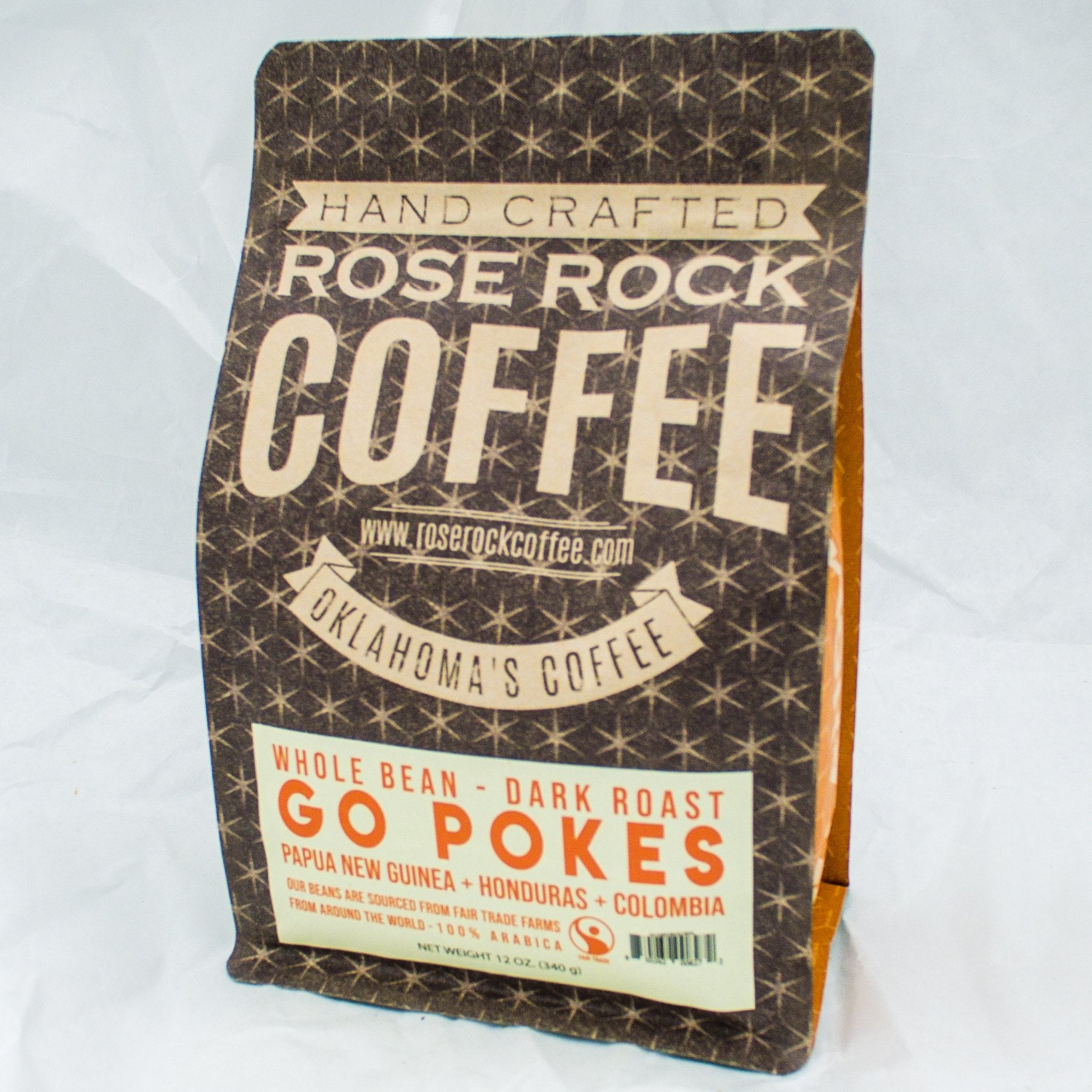 Rose Rock Go Pokes 12 oz. - Dark Roast